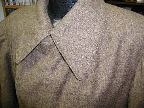 Interesting M41 overcoat
