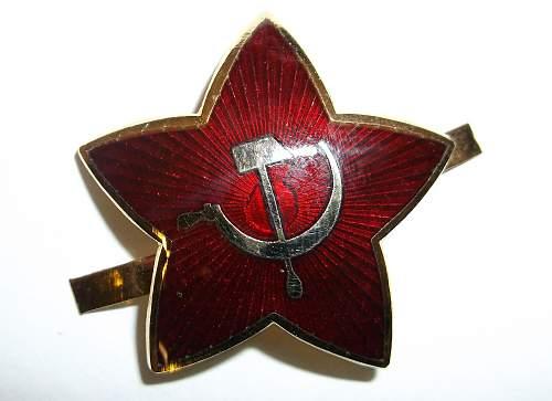 German cap star?