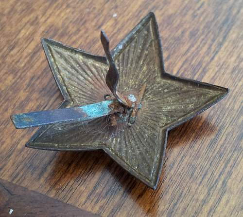 WW2 Soviet Button and Pin