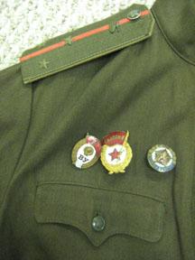 Soviet 1980s Tanker Uniform ID