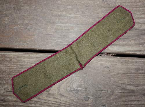 Russian Infantry Enlisted Straps