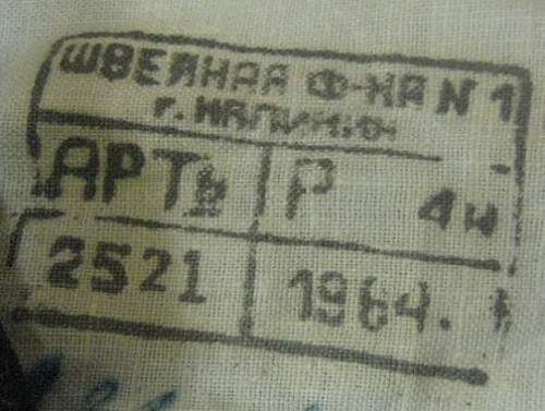 1960s Soviet Airforce Uniform ID