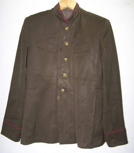 wartime or post-war 43M tunic?