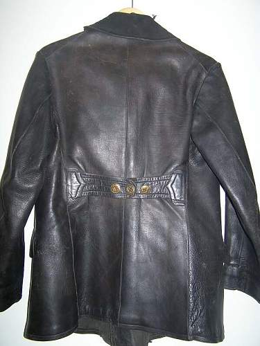 Estonian Armored crew jacket, re-issued by RKKA