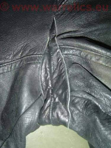 Soviet leather trouser for armored crew personel