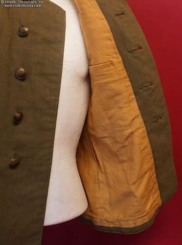 Help on m43 service tunic
