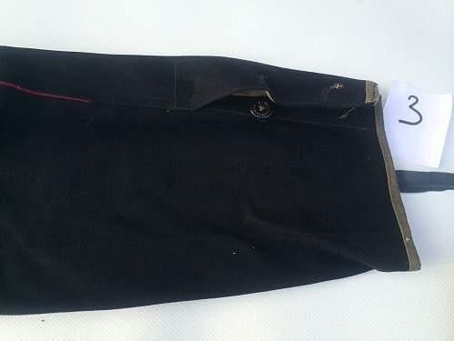 M35 dark  blue officer breeches