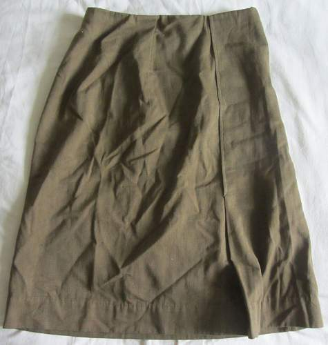 Red Army Womens Field Uniform Skirt . Non standard made