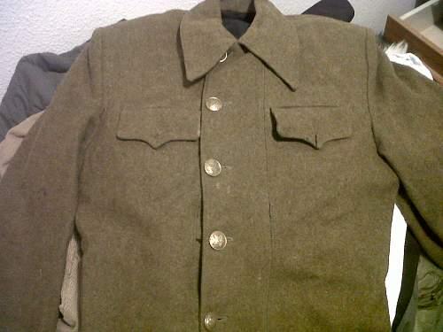Pseudo m1940 tunics. Military council members???