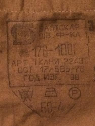 Need help on Russian Tunic