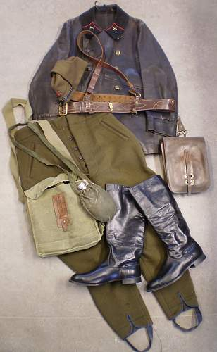 PKKA uniforms and gear.