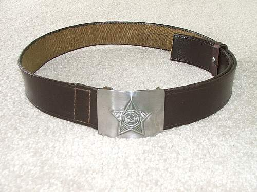 info on this belt i picked up?