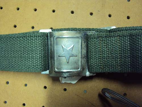 did Russia supply North Vietnam with this type of belt?