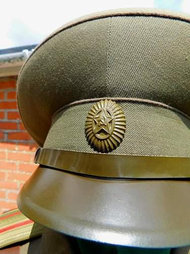 Soviet Army field uniform M1969 (?)