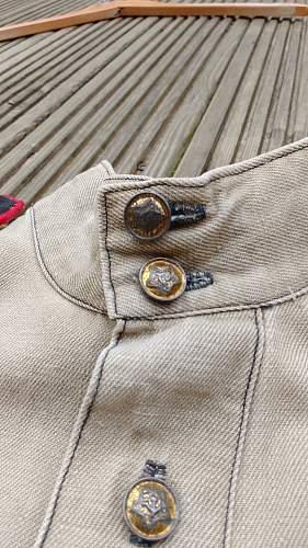 Pocketless M43 Gym with Tushonka Buttons