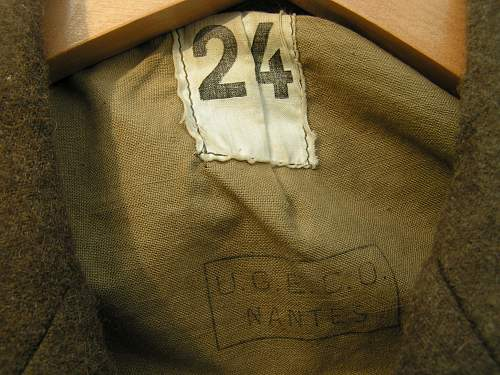 Uniform identification, UGECO brown jacket