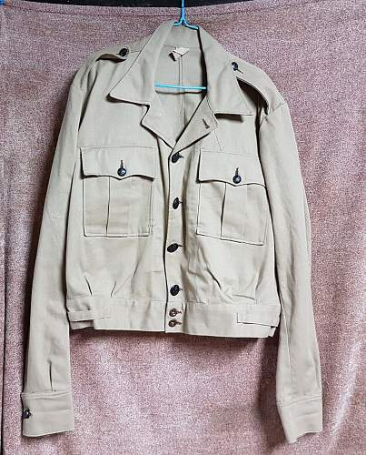 Click image for larger version.  Name:RAAF KD BD Type Tropical Tunic 1.jpg Views:33 Size:230.5 KB ID:1008169