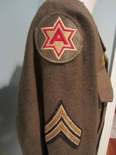 6th Army Australian Made Ike Jacket