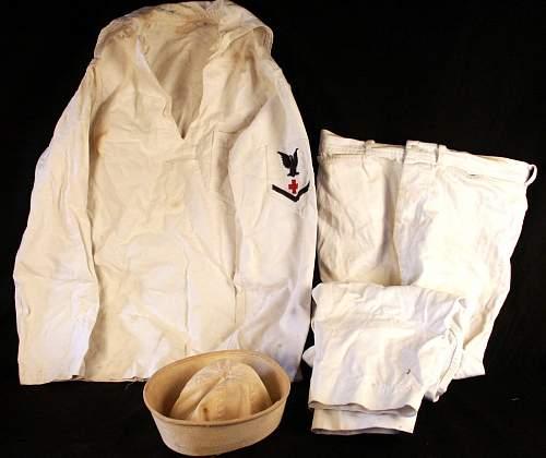 US Navy Undress Whites