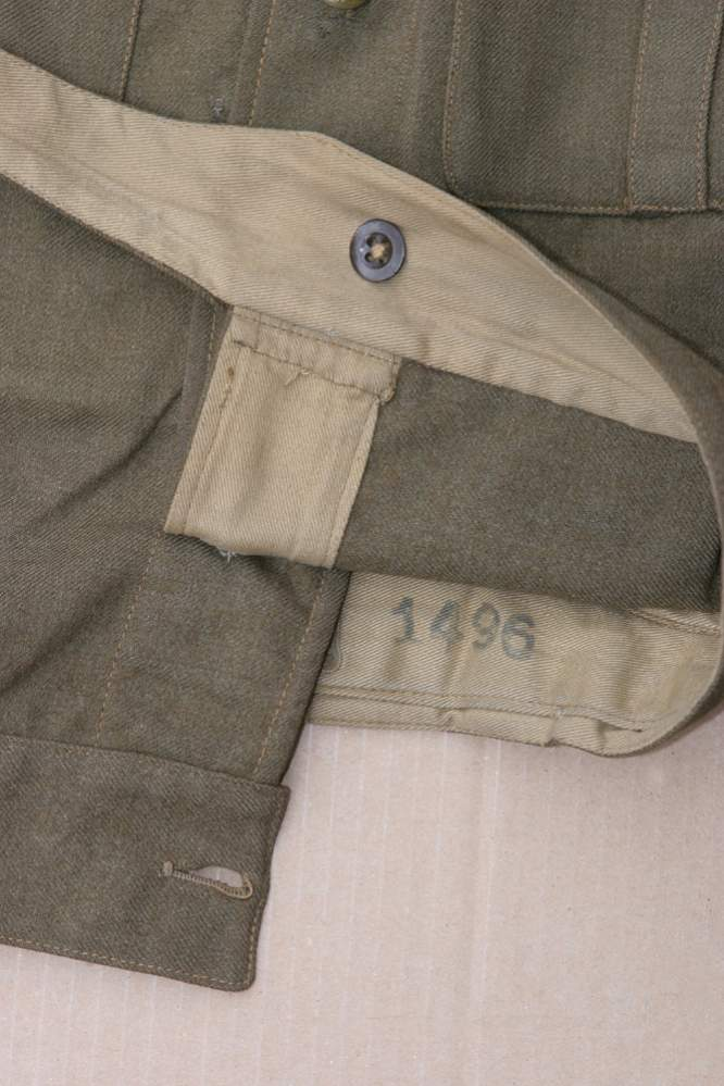 What Does Ats Mean >> ATS Officer's Battledress Blouse, Anti-Aircraft Command