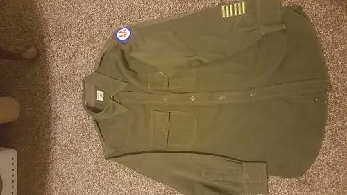 WW2 AA command shirt