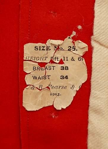 British Red Tunic