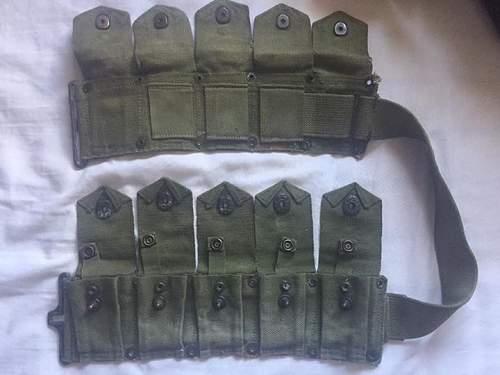 WW2 or post war made Garand belt?