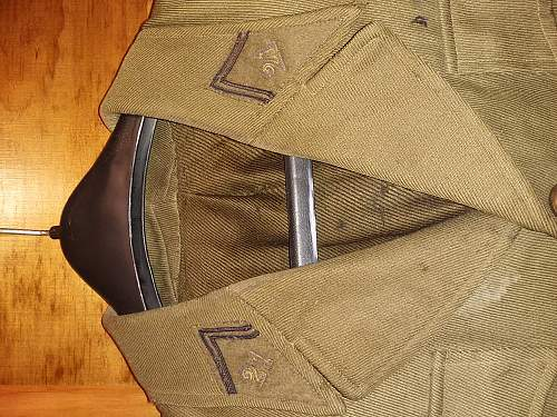 WW2 French Officer's Uniform