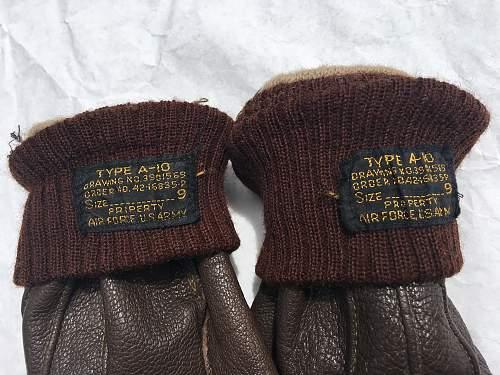 Type A-10 Flight Gloves