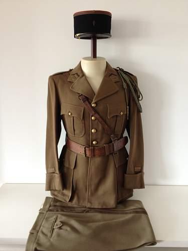 WW2 French Officer's Uniform