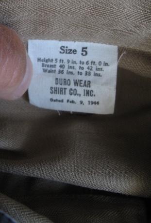 US Made British KD Bush Shirt