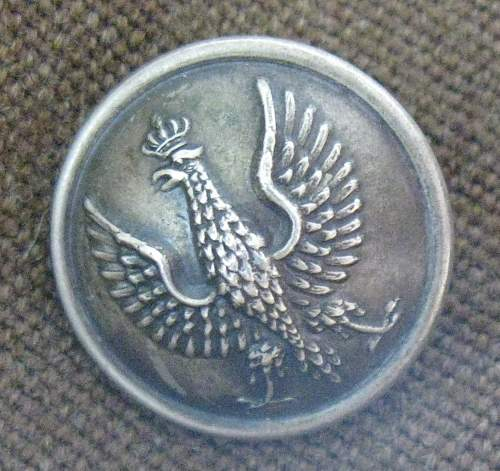 Polish uniform button