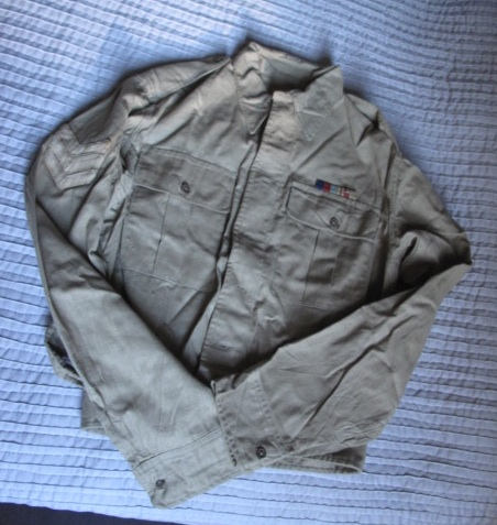 Researching a small lot of British/Indian KD and Airtex uniforms: 8th Indian Division