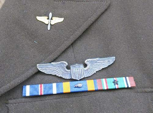 WW2 US 8th AAF 4 pocket tunic for the rank of Major.
