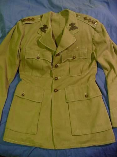 10th Royal Hussars Service Dress