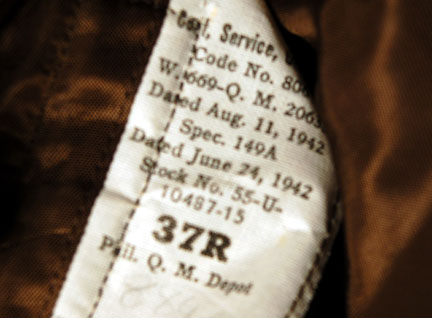 USAAF WW2 Lot - Uniform + Cap