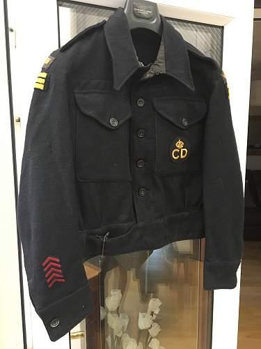 Civil Defence Tunic