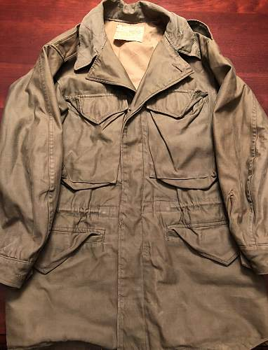 US M43 Field Jacket