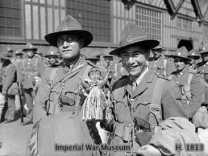 Battledress Blouse Lieutenant G. A. J.  Grieg, 70213 5th NZ Brigade, 2nd NZEF