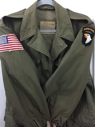 101st Airborne M43 Jacket