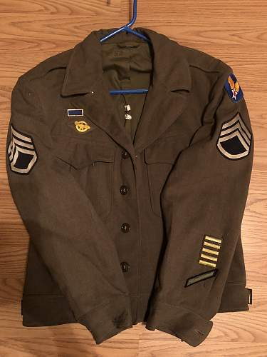 D-Day dated Ike Jacket