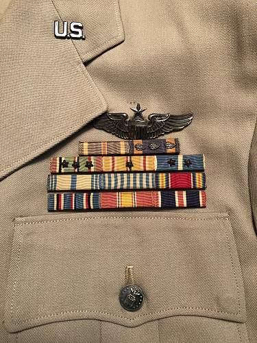 WW2/Korea Major's Uniform