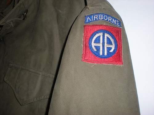 82nd Airborne M43 Jacket