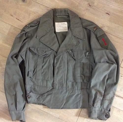 1st Division M-43 cut-down - ID help!