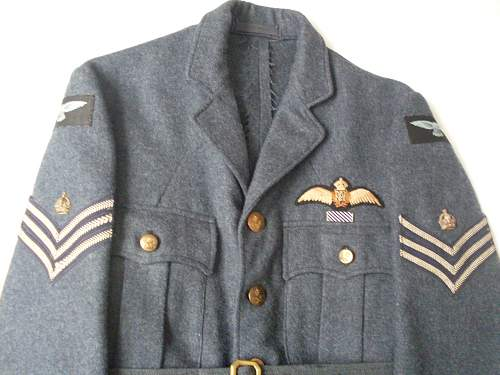 RAF sergeant (pilot) Service Dress