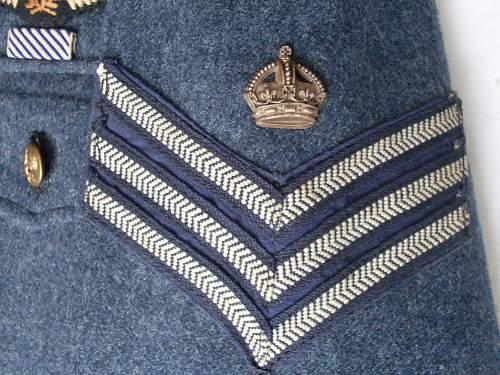 RAF sergeant (pilot) Service Dress