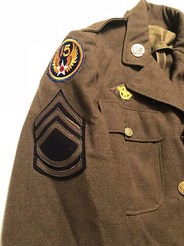 WW2 US Army Air Corps Tunic