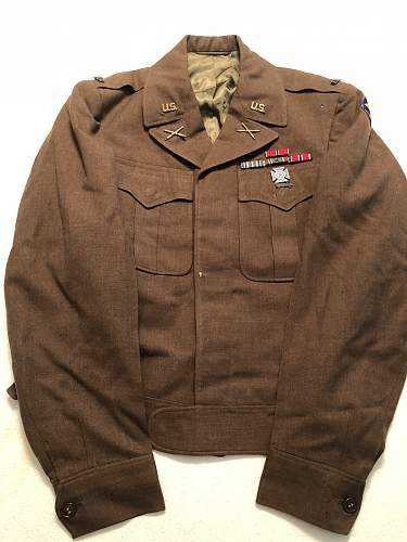 WW2 US Artillery Officer's Ike Jacket