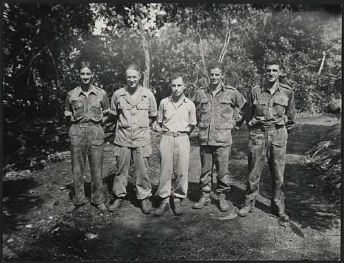 New Zealand Pacific War Camouflage uniform
