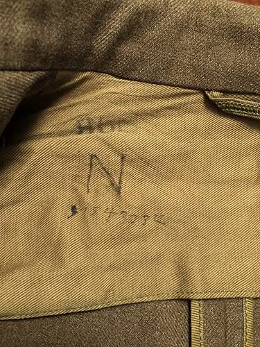 US Combat Medic's 'Tropic Thunder Divisiom' Jacket